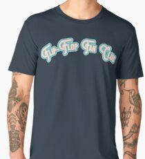 Flip-Flop Fan Club - Sand & Surf Blue Version Men's Premium T-Shirt