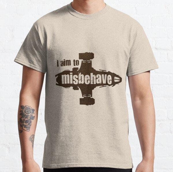 Glühwürmchen ich versuche mich schlecht zu benehmen Classic T-Shirt