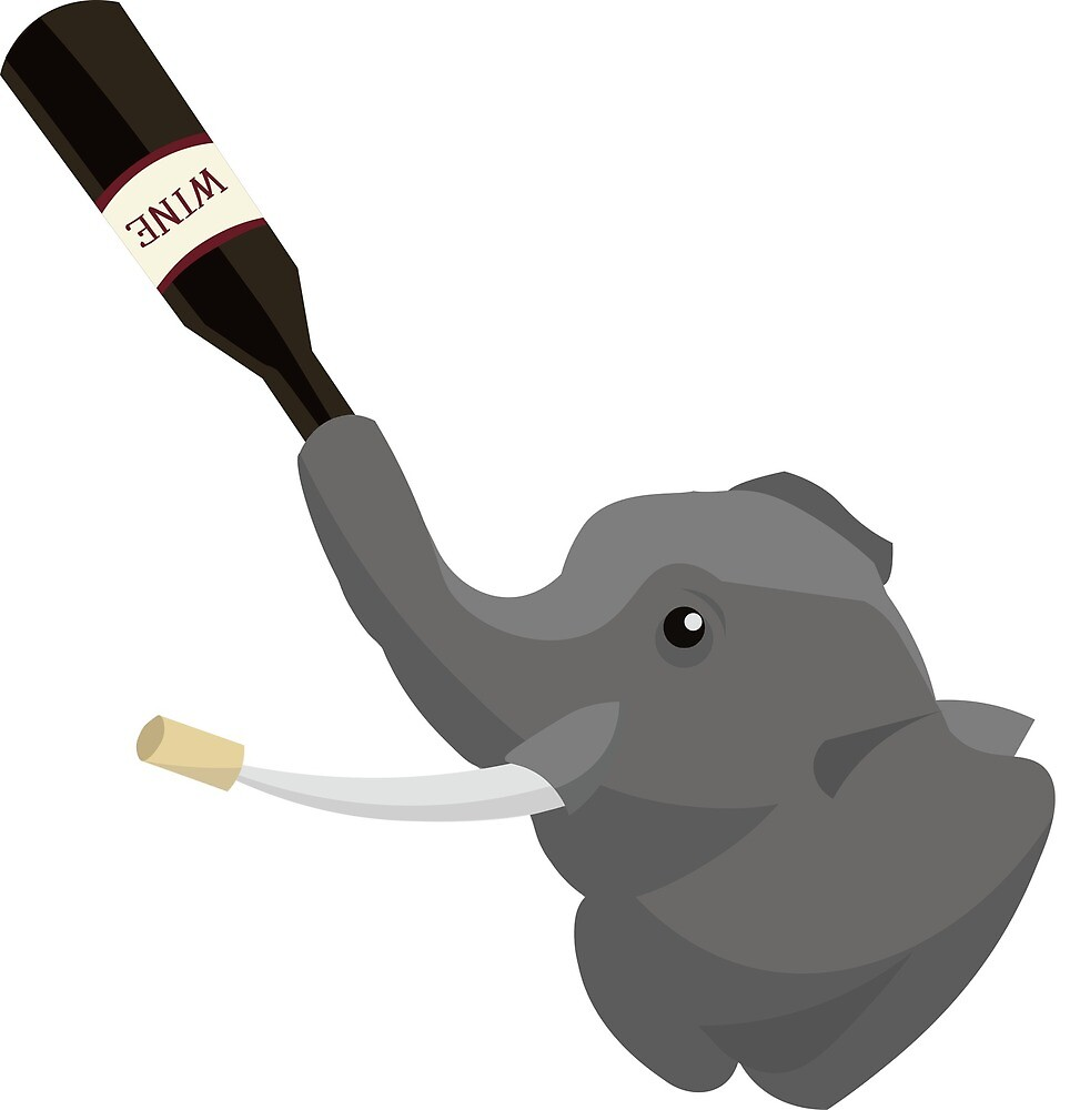Elephant Wine by susanneduquette