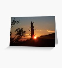 Clingmans Point Greeting Card