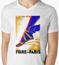 PARIS : Vintage 1939 Worlds Fair Advertising Print T-Shirt