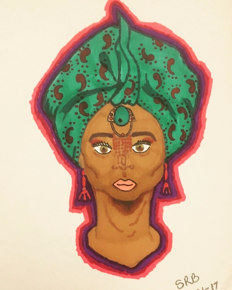 African Beauty by SaffronBruno