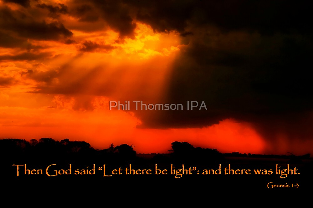 """And God Spoke"" by Phil Thomson IPA"