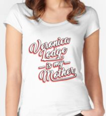 Veronica Lodge is my Mom Women's Fitted Scoop T-Shirt