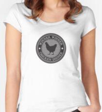 pubg - winner winner Women's Fitted Scoop T-Shirt