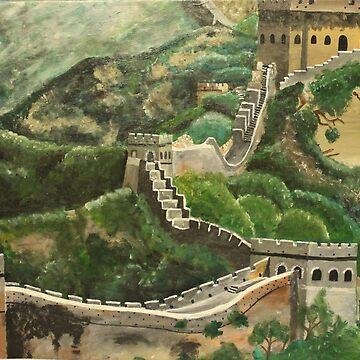 Great Wall of China  by naasirahramjan