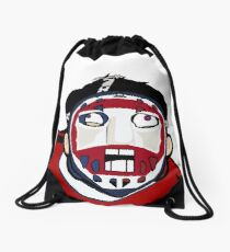 Montreal Vintage Rabid Team Logo  Drawstring Bag