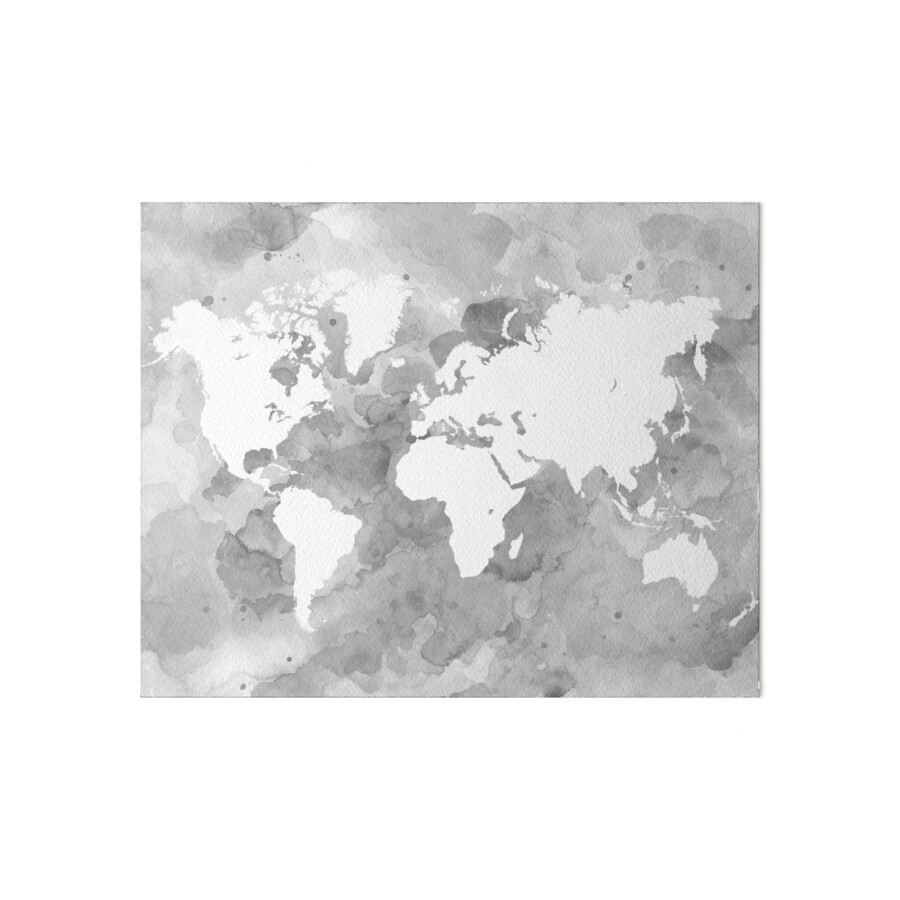 Design 49 world map grayscale art boards by artbylucie redbubble design 49 world map grayscale by artbylucie gumiabroncs Gallery