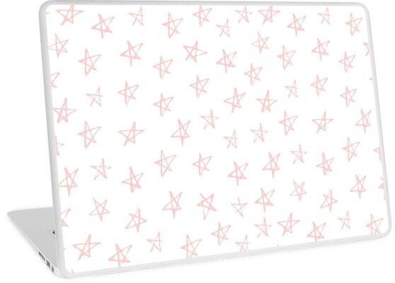 Stars Pink Rose by PineLemon