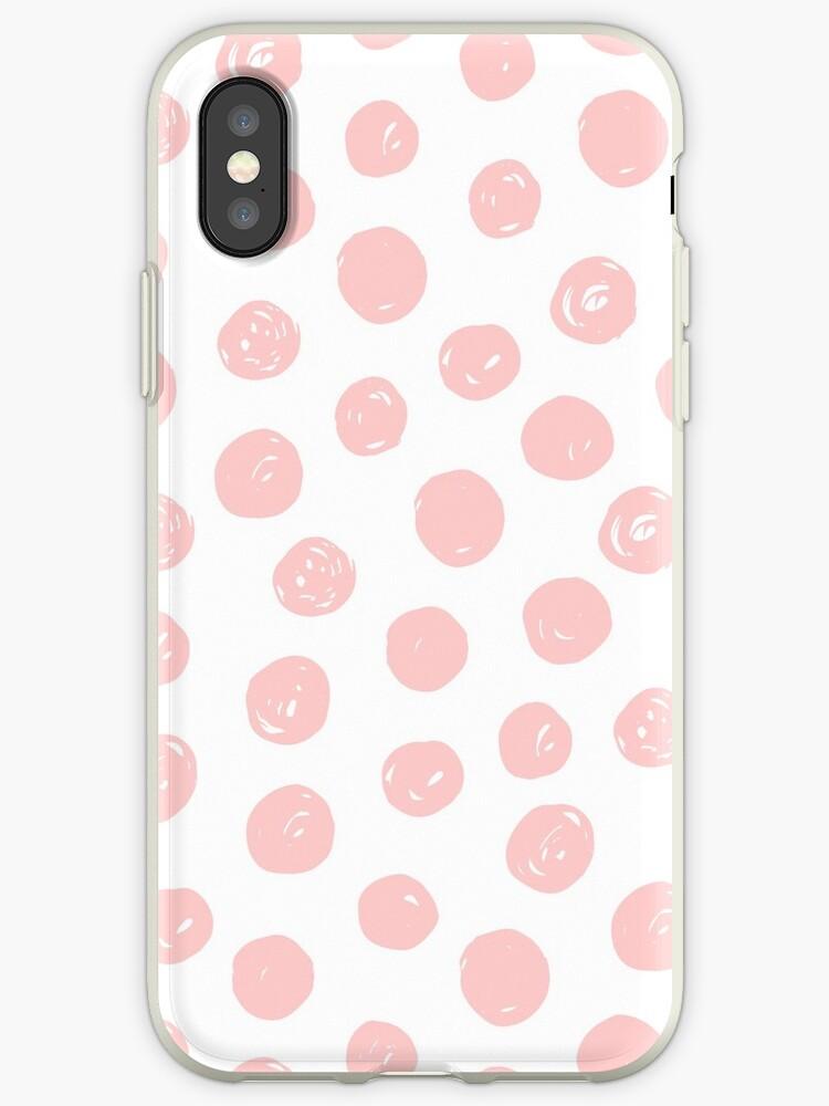 Circles Pink Rose by PineLemon