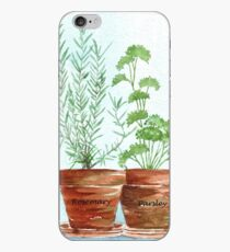 Rosemary and Parsley iPhone Case