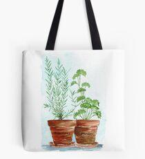 Rosemary and Parsley Tote Bag