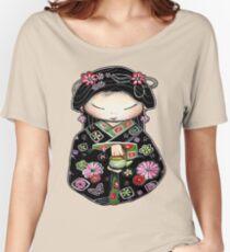 Little Green Teapot for colour  Women's Relaxed Fit T-Shirt