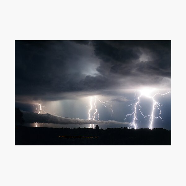 Lightning Fest at Alstonville Photographic Print