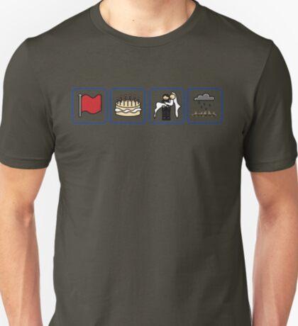crimson, eleven, delight, petrichor T-Shirt