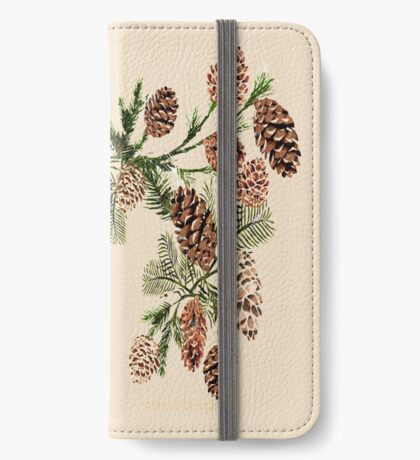 Pine cones ( 554 Views) iPhone Wallet