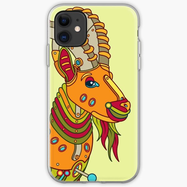 Ibex, from the AlphaPod collection iPhone Soft Case