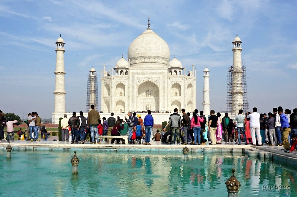 Taj Mahal by pjyphotos