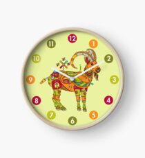 Ibex, from the AlphaPod collection Clock