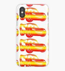 Gradient Lightning McQueen iPhone Case/Skin