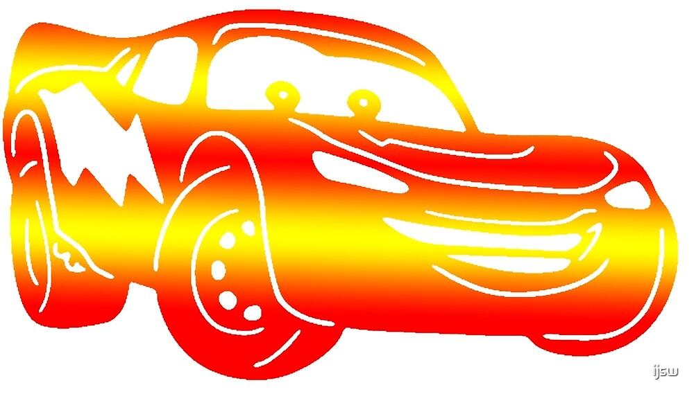 Gradient Lightning McQueen by ijsw