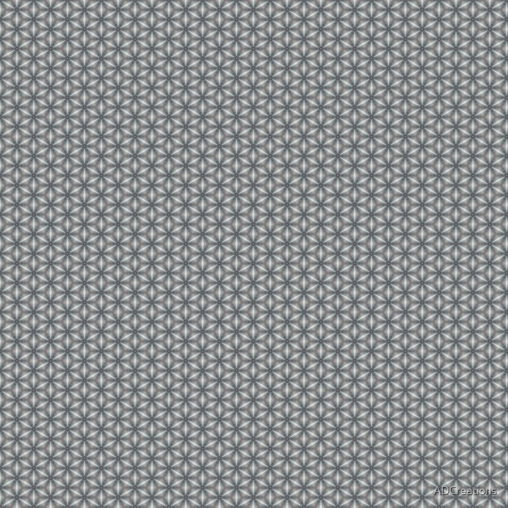 Geometric Flower Pattern 1 by ADCreations