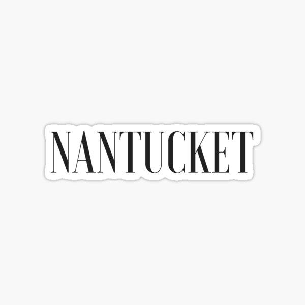 Nantucket Sticker