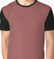 Marsala | Pantone Fashion Color of the Year 2015 | Solid Color Graphic T-Shirt