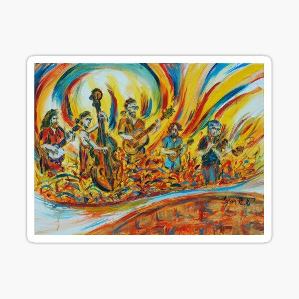 Mountain Ride - Bluegrass Band Sticker