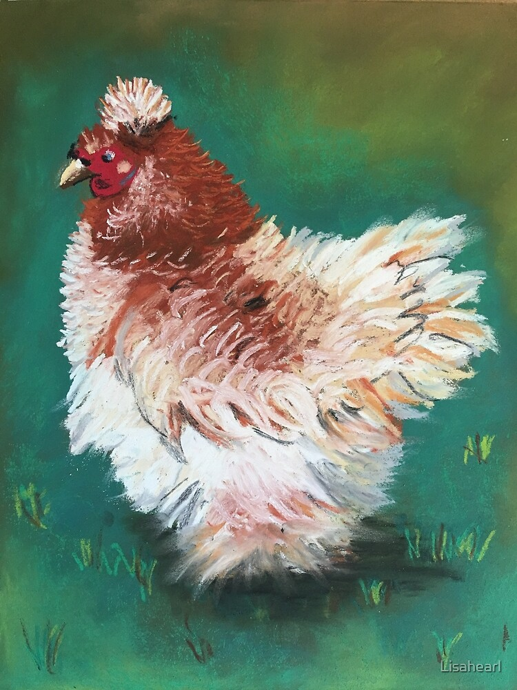 Fluffy the chook  by Lisahearl