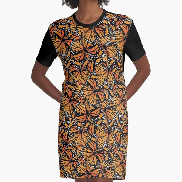 Monarch Butterflies | Vintage Butterflies | Butterfly Patterns |  Graphic T-Shirt Dress
