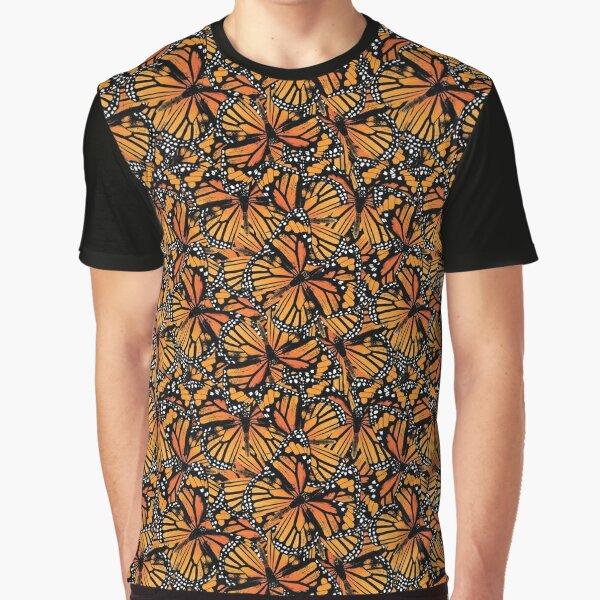 Monarch Butterflies | Vintage Butterflies | Butterfly Patterns |  Graphic T-Shirt