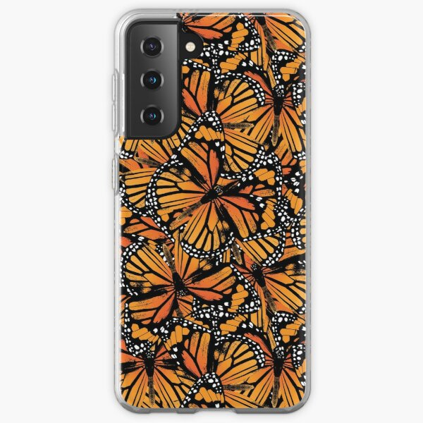 Monarch Butterflies | Vintage Butterflies | Butterfly Patterns |  Samsung Galaxy Soft Case