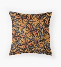 Monarch Butterflies | Butterfly Pattern Floor Pillow