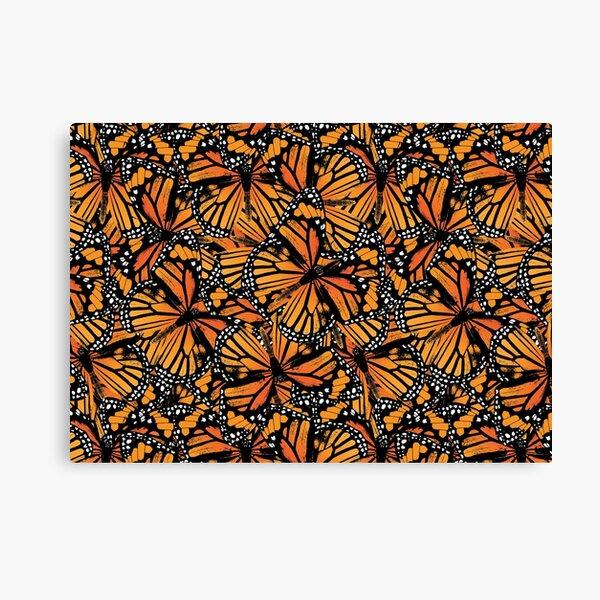 Monarch Butterflies | Vintage Butterflies | Butterfly Patterns |  Canvas Print
