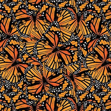 Monarch Butterflies | Butterfly Pattern by EclecticAtHeART