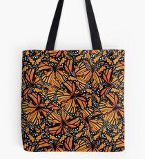 Monarch Butterflies   Butterfly Pattern Tote Bag