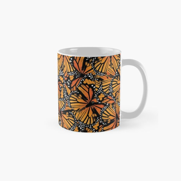 Monarch Butterflies | Vintage Butterflies | Butterfly Patterns |  Classic Mug