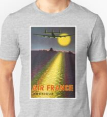 1949 Air France South America Travel poster  T-Shirt