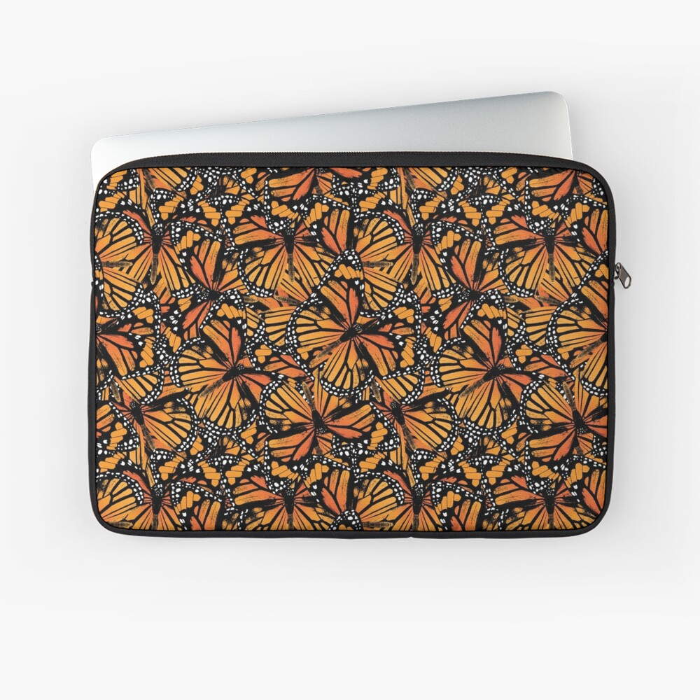 Monarch Butterflies | Vintage Butterflies | Butterfly Patterns |  Laptop Sleeve