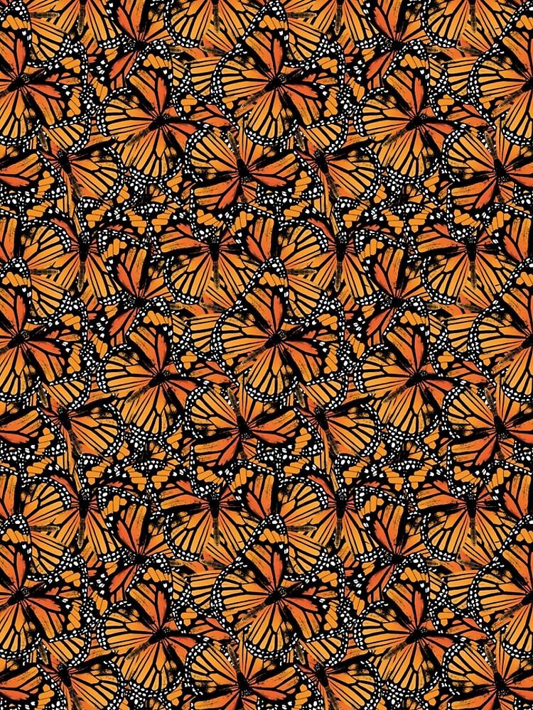 Monarch Butterflies   Butterfly Pattern    by EclecticAtHeART
