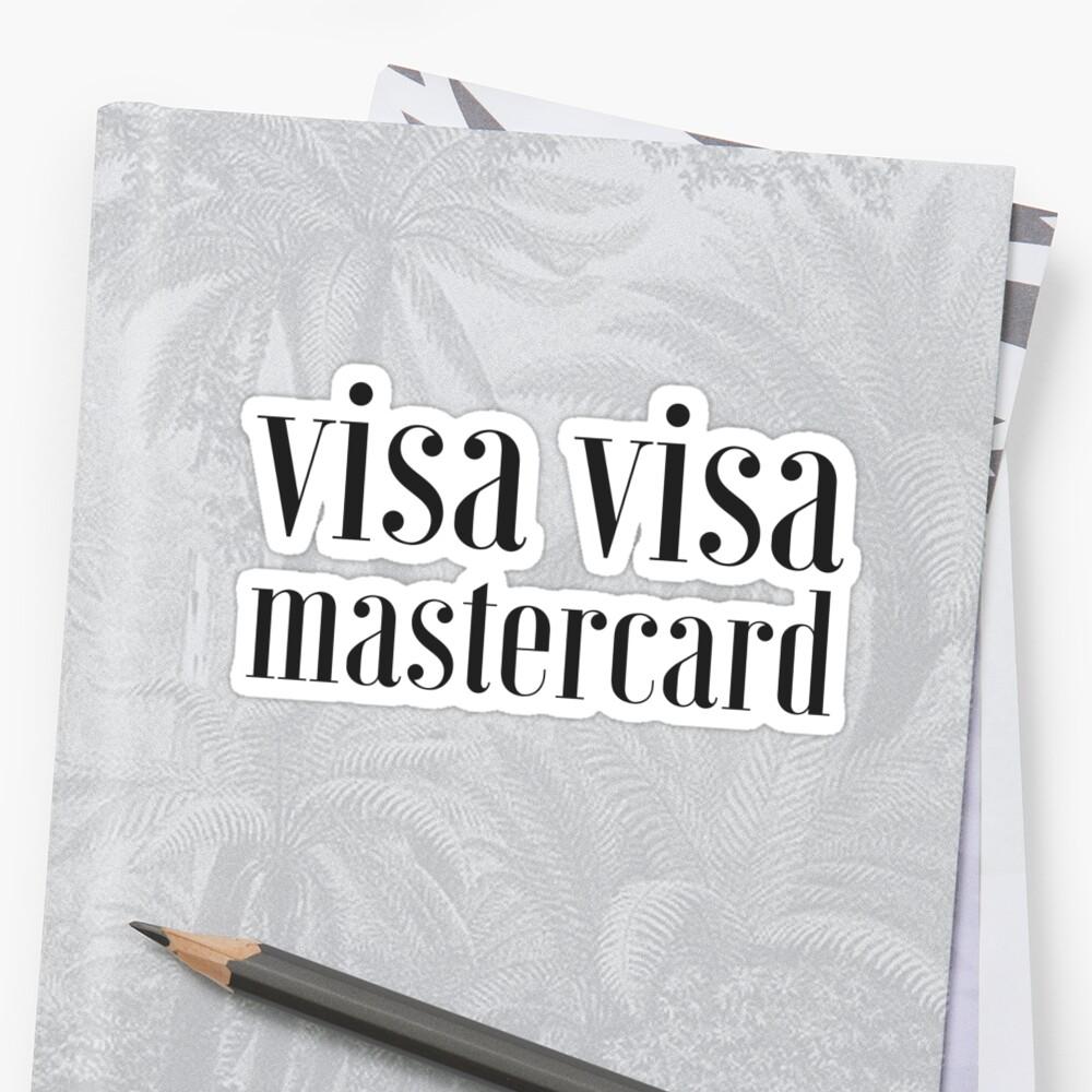 visa visa mastercard by coachella