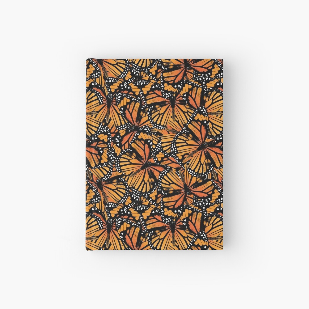 Monarch Butterflies | Vintage Butterflies | Butterfly Patterns |  Hardcover Journal