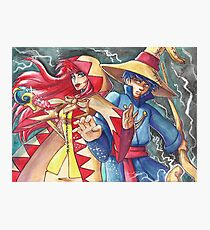 White Mage, Black Mage Photographic Print
