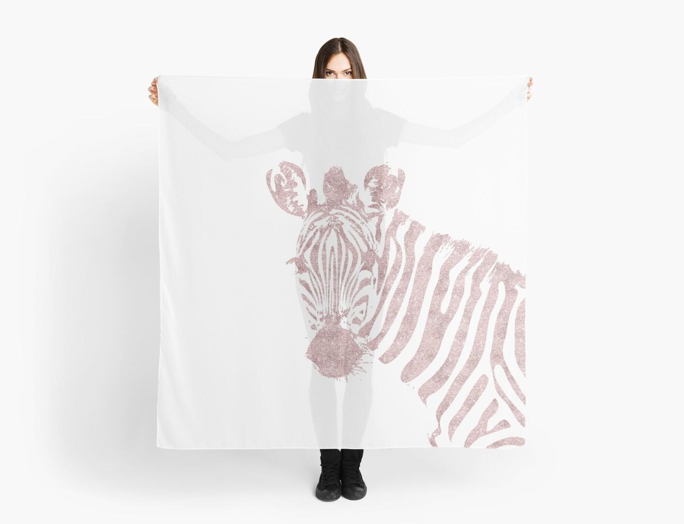 Rose Gold wild zebra by PineLemon