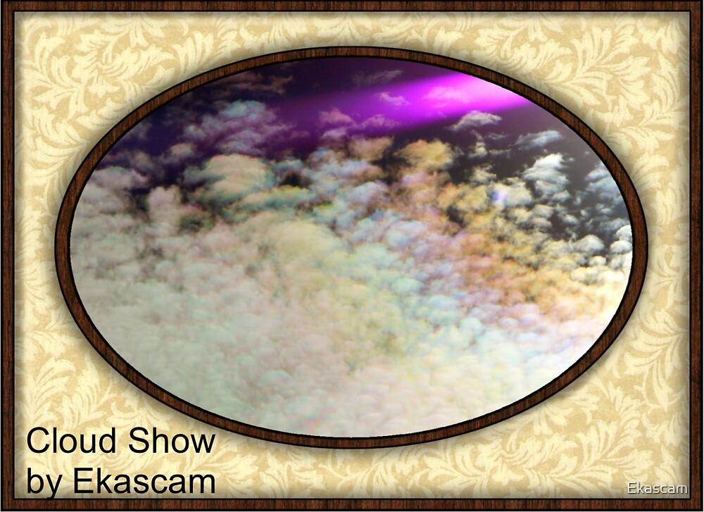 CLOUD SHOW AT VALLA BEACH by Ekascam
