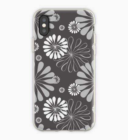 Mod Floral Print iPhone Case