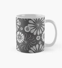 Mod Floral Print Mug