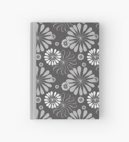 Mod Floral Print Hardcover Journal