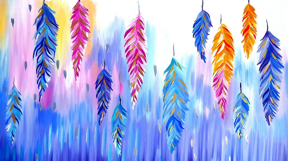 Feather Designs by CateJacobs